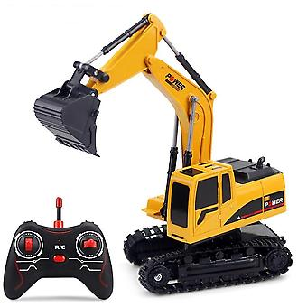 Rc Mini Rechargeable Excavator Truvk Toy