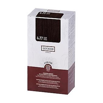 Color lucens 4.77 - chestnut 135 ml