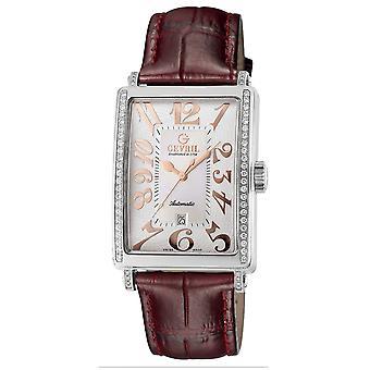 Gevril Mujeres's 6208RE Glamour Automático Reloj de Diamante Rosa [Reloj]