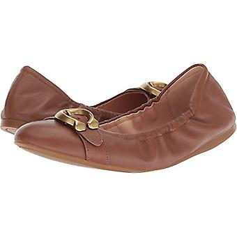 Coach Womens STANTON BLT Leather Closed Toe Ballet Flats
