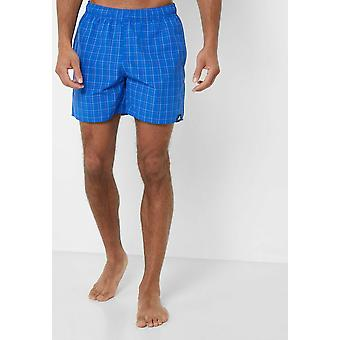 Adidas Men's Check Swim Shorts CV5164