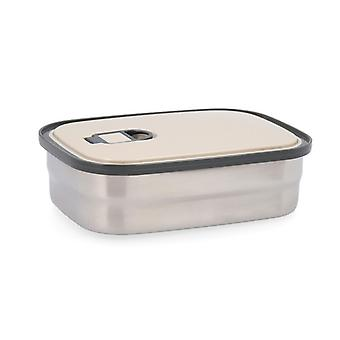 Lunch box Quid GO ONE Stainless steel/0