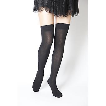 Black- Over Knee-highs Socks
