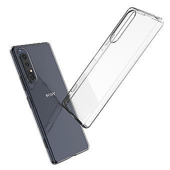Coque Pour Sony Xperia 1 Ii, Housse De Protection En Silicone De Haute Qualité, Transparent
