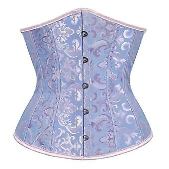 Sexy Corset Underbust Waist Gothic Top Bustier Plus Size