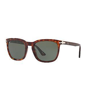 Persol PO3193S 24/31 Havana/Green Sunglasses