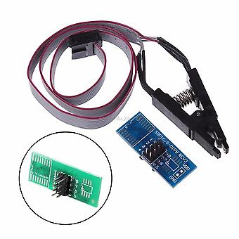 Test Clip Soic8 Sop8 For Eeprom 93cxx/25cxx/24cxx In-circuit Programmer