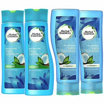 Pack Of 2 Herbal Essences Duo's Shampoo & Conditioner - 400ml Hello Hydration