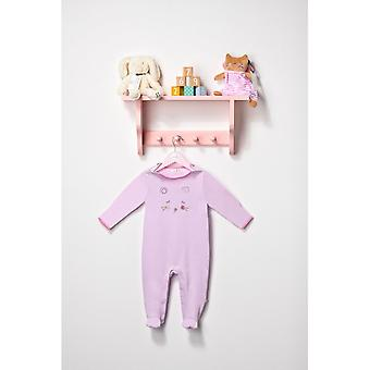 The Essential One Baby Girls Sleepsuit Pink