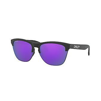 Oakley Frogskin Lite OO9374 31 Matta Musta/Prizm Violetti Aurinkolasit