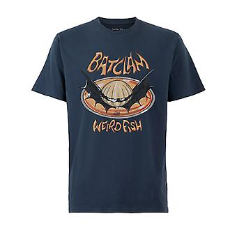 Batclam Orgánico Algodón Artista Camiseta True Blue