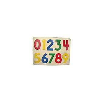 ABG Wooden Puzzle.  1,2,3 - 10    Age 18m+