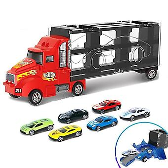 Diecast Cars Metal Model With Big Truck Vehicles Toy