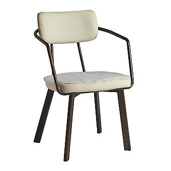 Awne Arm Chair - Old Anvil - FR Foam/ RFU