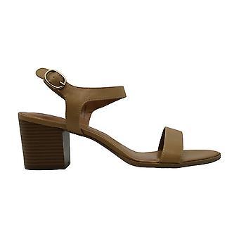 Style & Co Womens Mollee läder peep toe casual slingback sandaler