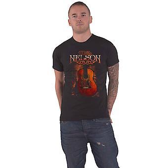 Willie Nelson T Shirt Trigger Logo new Official Mens Black