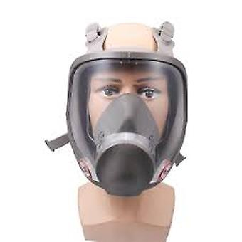 Full Face Respirator Kit Painting Spraying Dust Silicone Gas Mask