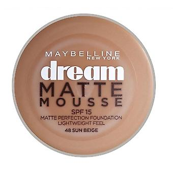 Maybelline Dream mat Mousse Foundation