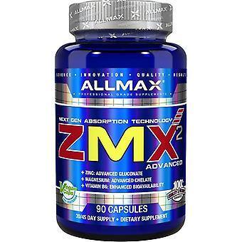AllMax Nutrición Zmx 2 Cápsulas Avanzadas 90