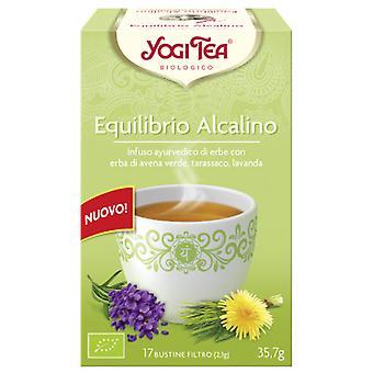 Yogi Tea Équilibre alcalin 17 Enveloppes