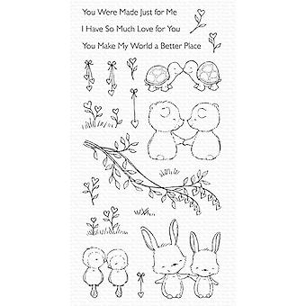 My Favorite Things Being With You Clear Stamps
