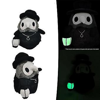 Plague Doctor Luminous Plush Toy (as Shown)