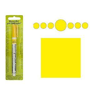 Decoart Yellow Glass Marker 1mm