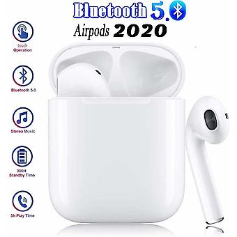 Bluetooth Earphones, Wireless Touch Earphones, HiFi Earphones, In-Ear Earphones, Noise Canceling Earphones, Auto Pairing, for Apple Airpods / Android / iPhone / Samsung Headphones