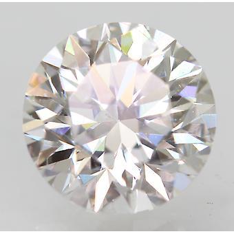 Zertifiziert 1.06 Karat D VVS2 Round Brilliant Enhanced Natural Loose Diamond 6.44m
