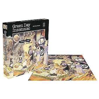 Green Day Jigsaw Puzzle Insomniac Album Cover new Official Black 500 Piece