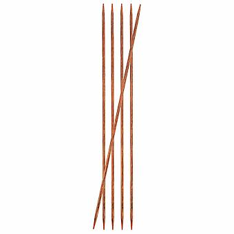 KnitPro Ginger: Knitting Pins: Double-Ended: 15cm x 3.50mm: Set of 5