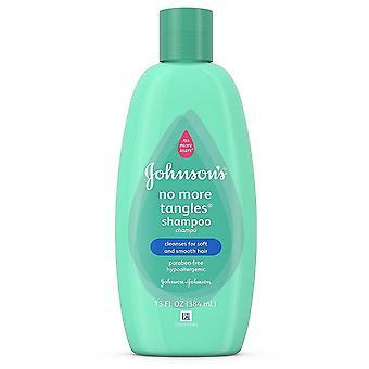 Johnson's no more tears baby shampoo & conditioner, thin/straight hair, 13 oz