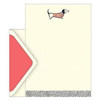 Art Frank Sausage Dog Letter Set