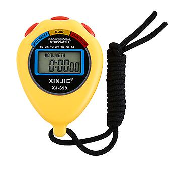Electronic stopwatch timer student training professional sports referee accurate timing sports stopwatch 2pcs