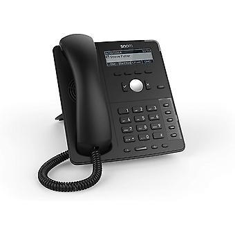 Wokex D715 IP Telefon, SIP Tischtelefon (5 konfigurierbare LED-Funktionstasten, vierzeiliges S /