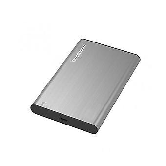 Simplecom Se221 Aluminium Sata Hdd Or Ssd To Usb Enclosure