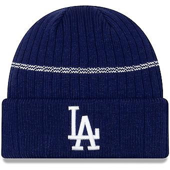 New Era Mlb Los Angeles Dodgers Primary Logo On-field Sport Cuffed Beanie Knit