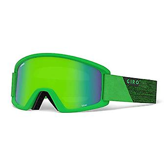 Lap Semi Ski Mask / Snow, Unisex Adult, Bright Green Peak, One Size