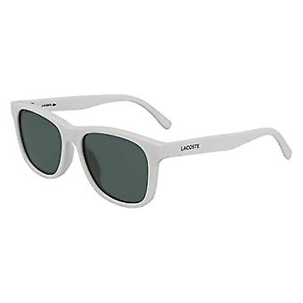 LACOSTE EYEWEAR Unisex WHITE Sunglasses, 5116 Men's