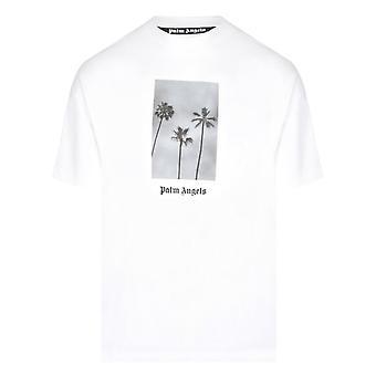 Palm Angels Palms Boulevard Classic White T-Shirt