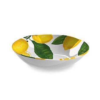 Epicurean Lemon Fresh Melamine Wide Bowl