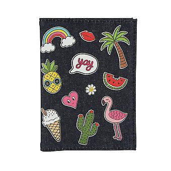 Sass & Belle Patches & Pins Passport Cover