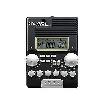 Cherub wrw-106 drum metronome rhythm trainer professional multi function digital electronic drum drummer metronome percussion