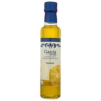Garcia De La Cruz Olive Oil Ev Lemon, Case of 4 X 8.5 Oz