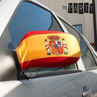 Spansk flagg bakspeilet Cover (pakke med 2)