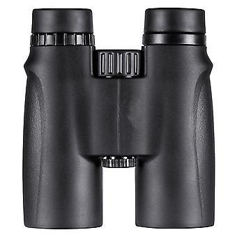 Мощный бинокль 10x42, блестящий и четкий диапазон видимости - для путешествий, наблюдения за птицами, астрономии, спорта и дикой природы, (черный)