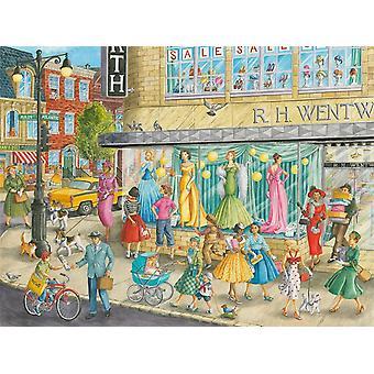 Ravensburger Sidewalk Fashion Legpuzzel (1500 stukjes)