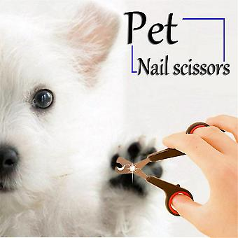 Pet Dog Gatto Toelettatura Unghie Artiglio Clippers Forbici Trimmer Groomer Cutter