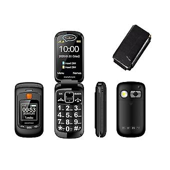 F899 Téléphone portable pour personnes âgées pliées