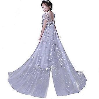 Aisha Princess Dress Costume For Little Girl's Comfort In Mind Elegant Style(140cm)